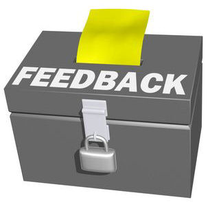 Have you got a comment, feedback or suggestion, click here
